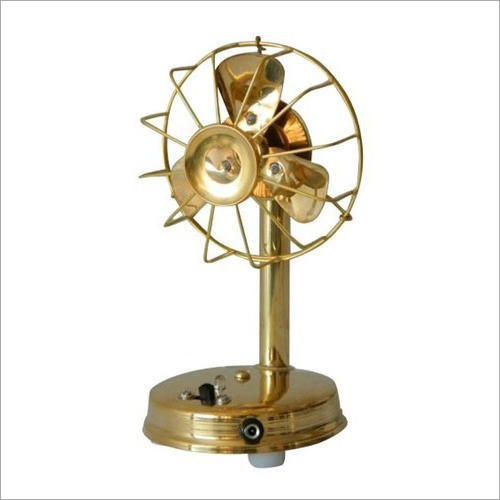 Antique Brass Fan