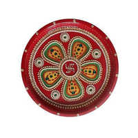 Designer Traditional Pooja Thali