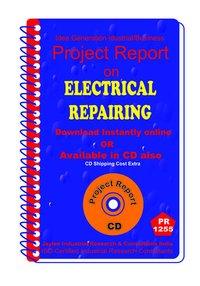 Electrical Repairing establishment Project Report ebook