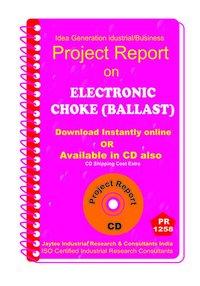 Electronic Choke (Ballast) manufacturing ebook