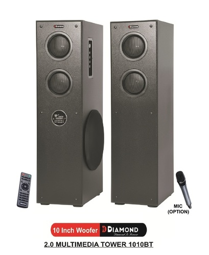 2.0 Multimedia Tower Speaker - 1010BT