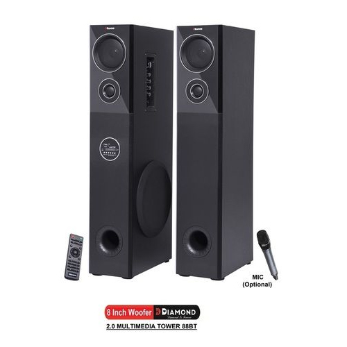 2.0 Multimedia Tower Speaker - 88BT
