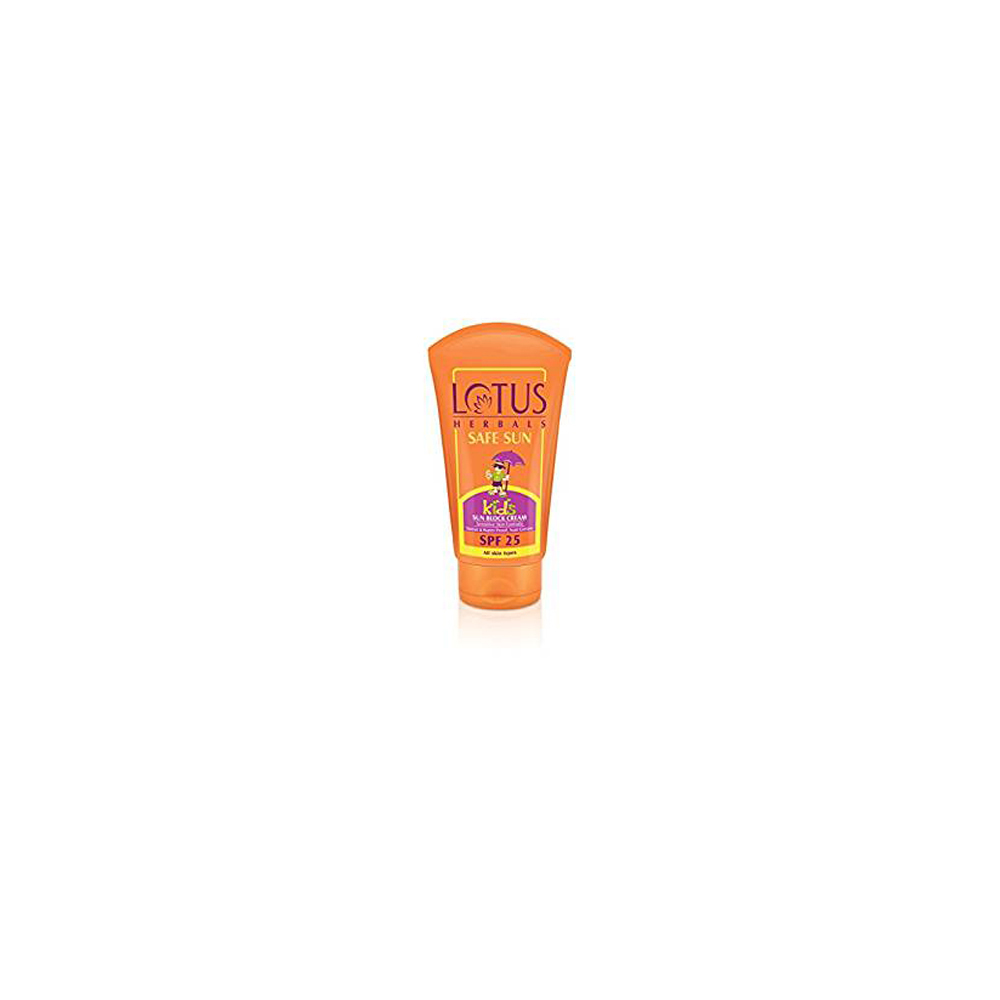 Lotus Herbals Safe Sun Kids Sun Block Cream