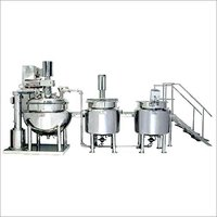 Automatic Ointment Cream Mfg Plant
