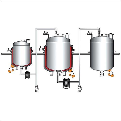 Automatic Liquid Syrup Process Plant