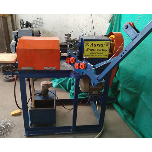 Semi Automatic Chain Link Fencing Machine