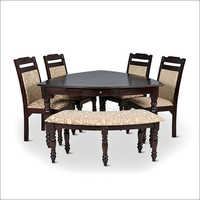 Classic Wooden Triangular Dining Sets