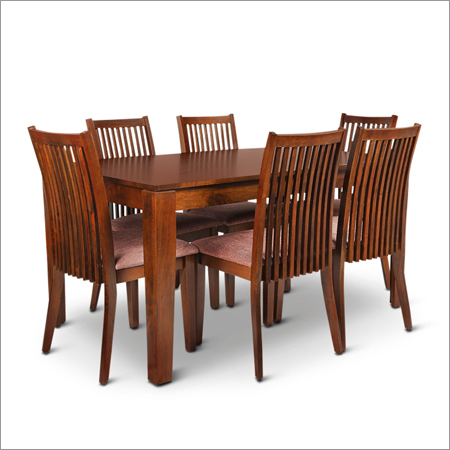 Wooden Strip Chair Dining Sets