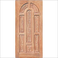 Marwadi Round Wooden Panel Door