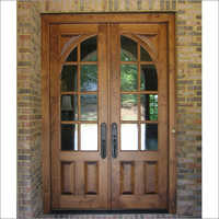 Double Sided Glass Door