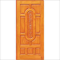 Wooden Engraved Panel Door