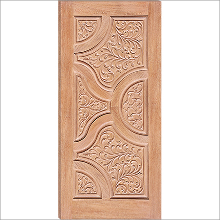 Wooden Engraved Design Door