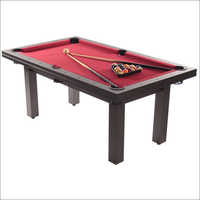 Teak Wood Pool Table