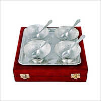 Silver Plated Four Bowl Set