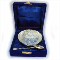 Silver Plated Single Bowl Set