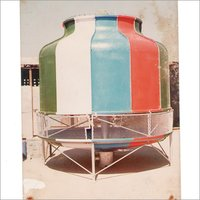 FRP Induced Draft Round Cooling Tower
