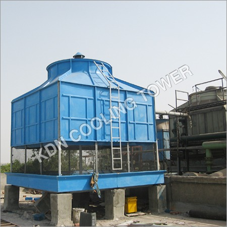 FRP Induced Draft Square Cooling Tower