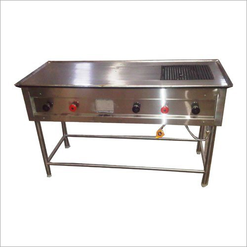 Chapati Plate Cum Puffer With Heavy Mild Steel Body LPG