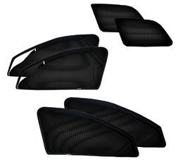 Car Premium Quality Magnetic Curtain Zipper (set of 6)