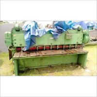 Godrej make Shearing Machine - 10mm x 2500mm