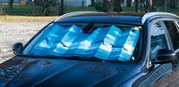 Car Printed Silver Foil Windscreen Shade