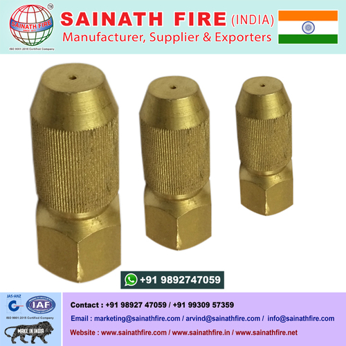 Garden Brass Spray Misting Nozzle