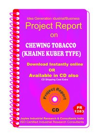 Chewing Tobacco (Khaine Kuber Type ) manufacturing eBook