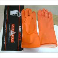 Eco Safe Rubber Gloves