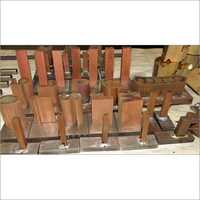 Tmt Roll Branding Copper Electrodes