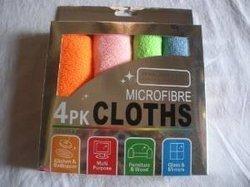 Micro Fibre Cloth Pack Of 4