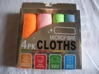 Micro Fibre Cloth Pack Of 4