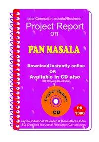 Pan Masala II manufacturing Project Report eBook