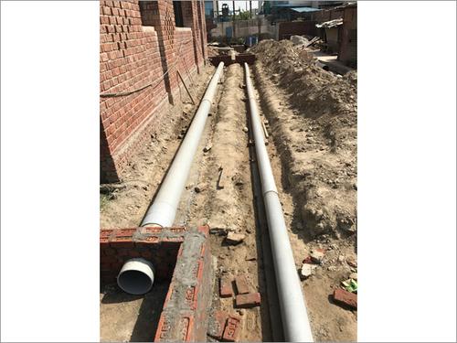 Sever Line Plumbing Work