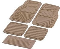 Universal Car Rubber Mat Taiwan- (packy poda Set of 5)