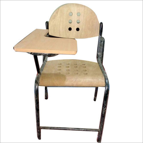 Student Writing Pad Wooden Chair