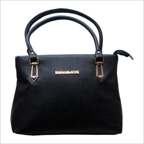 Ladies Black Designer Hand Bag