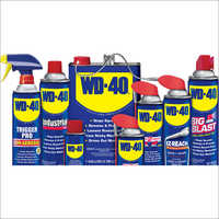 WD 40 rust preventive oil