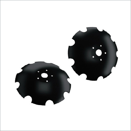 Notched Flat Center Disc