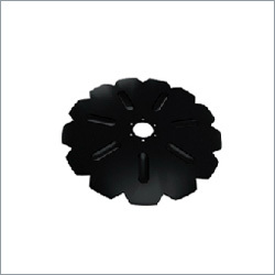 Notched Flat Coulter Disc