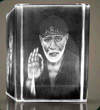 Sai Baba Crystal