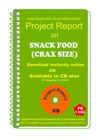 Snack Food (crax Size) manufacturing Project Report eBook