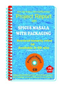 Spices Masala with Packaging manufacturing Project Report eBook