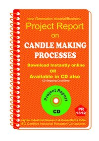 Candle Making Processes manufacturing Project Report eBook