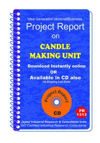Candle Making Unit manufacturing Project Report eBook