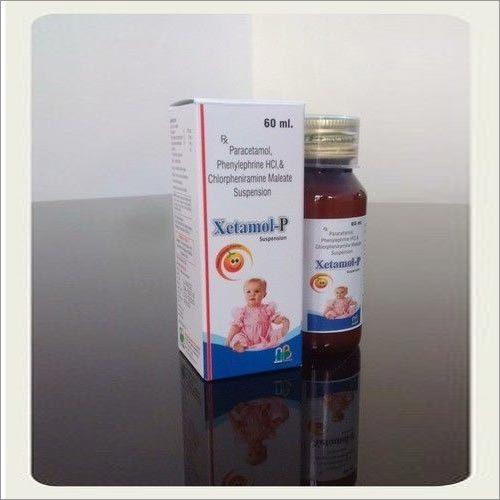 Phenylephrine5mg,CPMg Paracetamol 125 mg