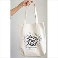 Bottom Guest Printed Canvas Bag