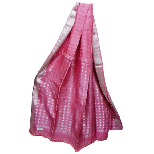 Noil Silk Jamdani Saree