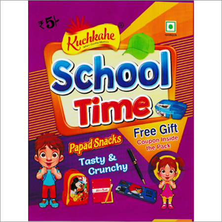 School Time Papad Snacks