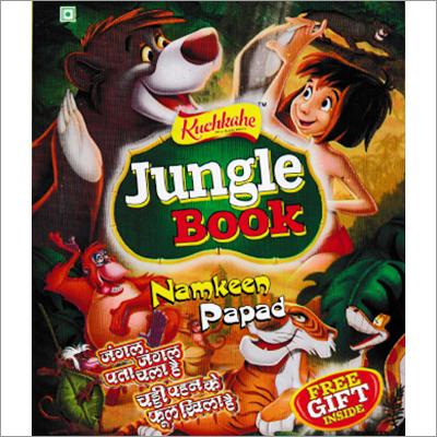 Jungle Book Namkeen Papad