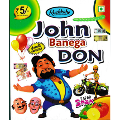 John Banega Don Papad Snacks